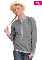 CLEPTOMANICX Womens Dricx Shirt gray pinstripe