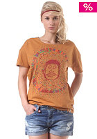 CLEPTOMANICX Womens Ezgi S/S T-Shirt sudan brown