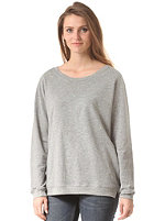 CLEPTOMANICX Womens Flarry Sweat heather gray