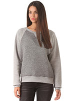 CLEPTOMANICX Womens Free Sweat heather gray