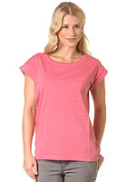 CLEPTOMANICX Womens Holiday S/S T-Shirt faded red