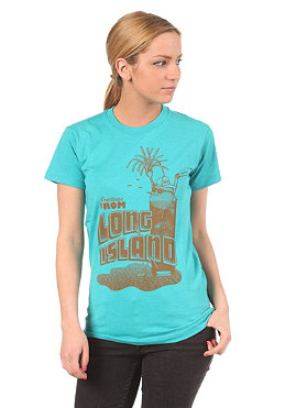 CLEPTOMANICX Womens Island Zitro S/S T-Shirt heather jade