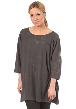 CLEPTOMANICX Womens Lilo S/S T-Shirt dark gray