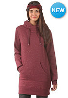 CLEPTOMANICX Womens Lorat Sweat burgundy