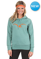 Womens Mowe Hooded Sweat heather beryl