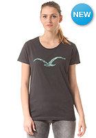 CLEPTOMANICX Womens Mowe S/S T-Shirt pirate black
