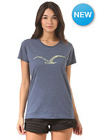 CLEPTOMANICX Womens M�we S/S T-Shirt heather blue