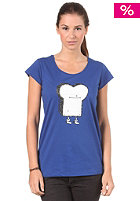 CLEPTOMANICX Womens Scoop Toast S/S T-Shirt soda blue