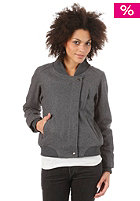 CLEPTOMANICX Womens Slime Jacket hether dark gray
