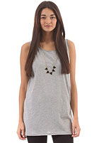 CLEPTOMANICX Womens Tschies Top heather gray