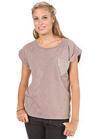 CLEPTOMANICX Womens Voyage Relaxed S/S T-Shirt twilight mauve