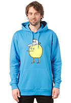 CLEPTOMANICX Zitrone Hooded Sweat fly blue