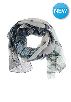 CODELLO Womens Belts Paisley Butterfly Snake Scarf turquois