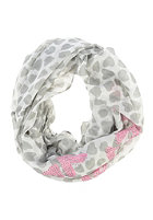 CODELLO Womens Forever yours Strass Loop Scarf off white