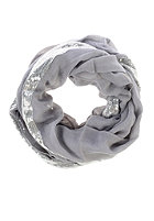 CODELLO Womens Loop with Paillettes Scarf light grey