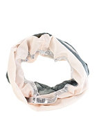 CODELLO Womens Ombre Glitter Loop Scarf light grey