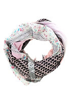 CODELLO Womens Patch Paly Triangle Scarf light pink