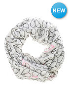 CODELLO Womens Peace Hearts Scarf off white