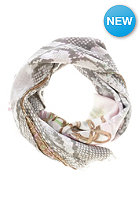 CODELLO Womens Snake Belts Paisley Scarf light pink