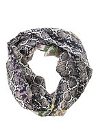 CODELLO Womens Snake Paisley Loop Scarf light pink