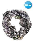 CODELLO Womens Snake Paisley Loop Scarf light pink
