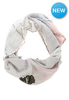 CODELLO Womens Valentine Patch Triangle Scarf light grey