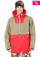 COLOUR WEAR Anorak Jacket red