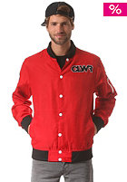 COLOUR WEAR Base Jacket poppy red
