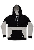 COLOUR WEAR Block Hooded Sweated Sweat black