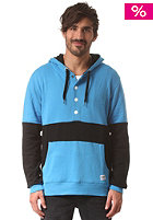 COLOUR WEAR Block Hooded Sweated Sweat sky blue