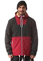 COLOUR WEAR Block Snow Jacket burgundy