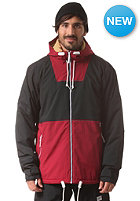 COLOUR WEAR Block Snow Jacket burgundy