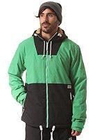 COLOUR WEAR Block Snow Jacket key green
