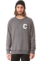 COLOUR WEAR C Team Crew Sweat black melange
