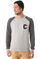COLOUR WEAR C Team Crew Sweatshirt grey melange