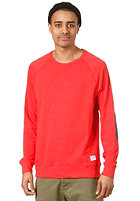 COLOUR WEAR CLWR Crew Sweat red melange