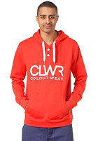 COLOUR WEAR CLWR Hooded Sweat red