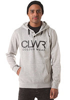 COLOUR WEAR Clwr Hooded Sweatshirt grey melange