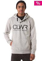 COLOUR WEAR Clwr Hooded Sweatshirt grey melange