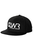 COLOUR WEAR CLWR Snapback Cap black