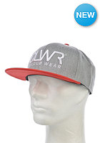 COLOUR WEAR CLWR Snapback Cap grey melange