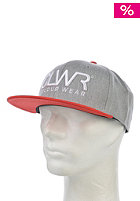 COLOUR WEAR CLWR Snapback Cap grey melange