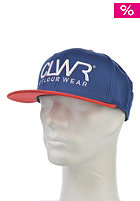 COLOUR WEAR CLWR Snapback Cap navy