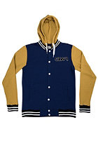 COLOUR WEAR CLWR Varsity Jacket navy