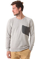 COLOUR WEAR Cut Crew Sweatshirt grey melange