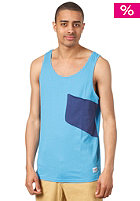 COLOUR WEAR Cut Tank Top loft blue