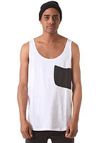 COLOUR WEAR Cut Tank Top white
