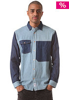 COLOUR WEAR Denim L/S Shirt faded denim