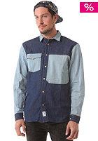 COLOUR WEAR Denim L/S Shirt raw denim
