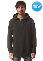 COLOUR WEAR Fold Hooded Sweat black melange
